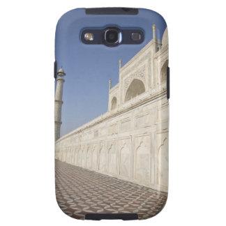 Alminares coronados en el Taj Mahal, visión desde  Galaxy SIII Coberturas