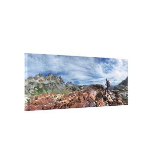 Alminares - desierto de Ansel Adams - Sierra Impresión En Lienzo