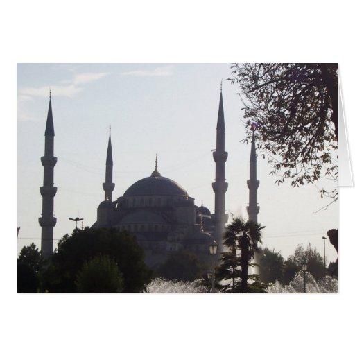 Alminares y más de la mezquita felicitacion