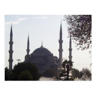 Alminares y más de la mezquita postal