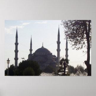 Alminares y más de la mezquita póster