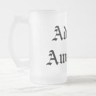 Almirante Awesome Mug Taza De Cristal