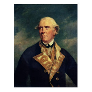 Almirante Barrington 1779 Postal