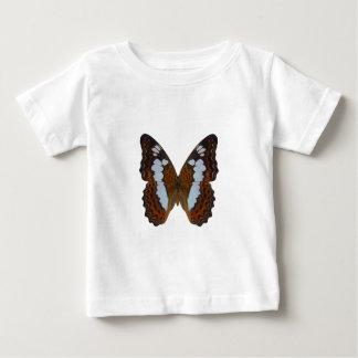 Almirante blanco mariposa remeras