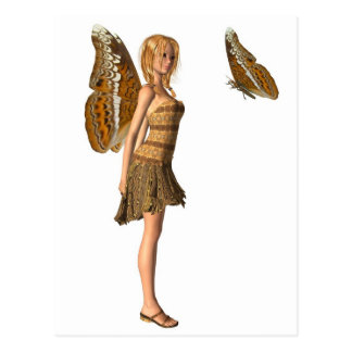 Almirante Butterfly Fairy - 1 Tarjetas Postales