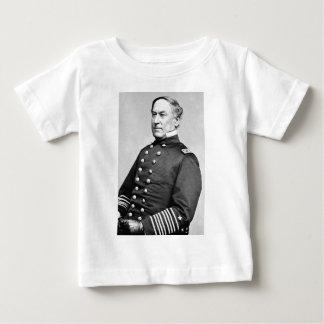 Almirante David Farragut Playera Para Bebé