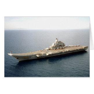 Almirante Kuznetsov Felicitaciones
