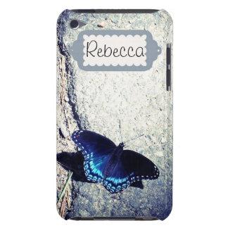 Almirante manchado rojo Butterfly iPod Case-Mate Carcasa