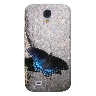 Almirante manchado rojo Butterfly Funda Para Galaxy S4