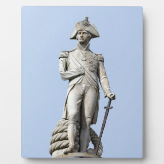 Almirante Nelson - grandes británico - favorable Placas De Plastico