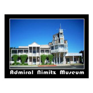 Almirante Nimitz Museum, Fredericksburg, Tejas Tarjeta Postal