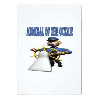 Almirante Of The Ocean Invitación