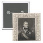 Almirante sir Edward Pellew, c.1810 Pin Cuadrado