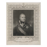Almirante sir Edward Pellew, c.1810 Póster