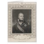 Almirante sir Edward Pellew, c.1810 Tarjeta De Felicitación