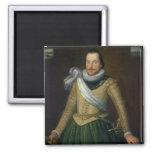 Almirante sir Thomas Button (d.1694) Imán Cuadrado