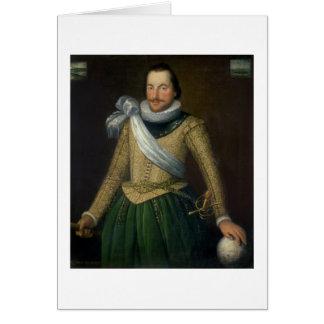 Almirante sir Thomas Button (d.1694) Tarjeta De Felicitación