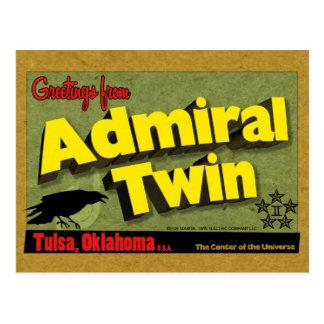 Almirante Twin - postal #2