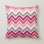 Almofada pink family chevron travesseiro