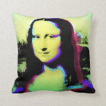 Almohada 1 del arte de Mona Lisa