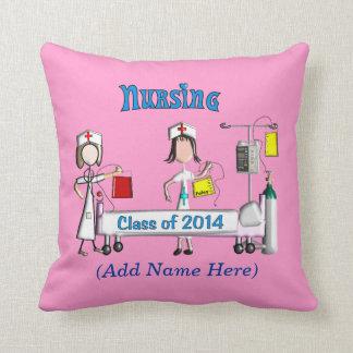 Almohada 2014 de la graduación de la enfermera reg