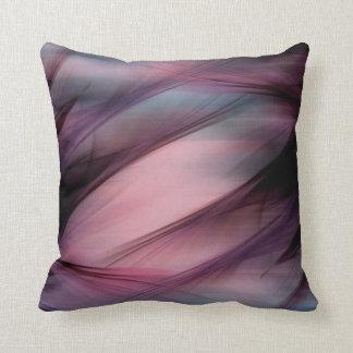 Almohada abstracta de color de malva nebulosa cojín decorativo