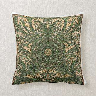 Almohada abstracta de la decoración de Nouveau del