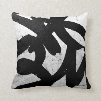 Almohada abstracta del acento del arte de la calle cojín decorativo
