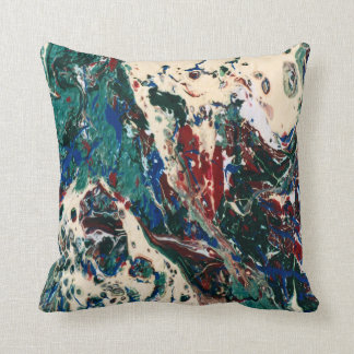 Almohada abstracta del flujo