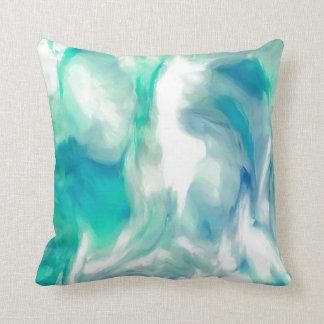 almohada abstracta, el flujo del río