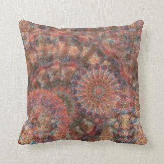 Almohada abstracta tallada de la decoración de las