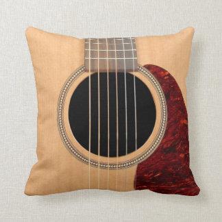 Almohada acústica de la guitarra de 6 secuencias cojín decorativo