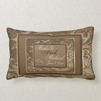 Almohada adornada de encargo del Lumbar del recuer