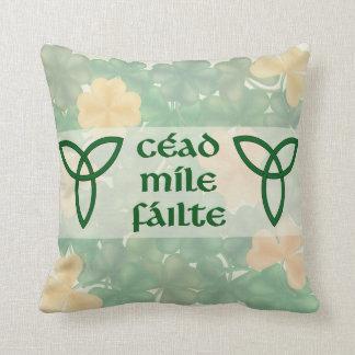 Almohada agradable del acento del irlandés cojín decorativo