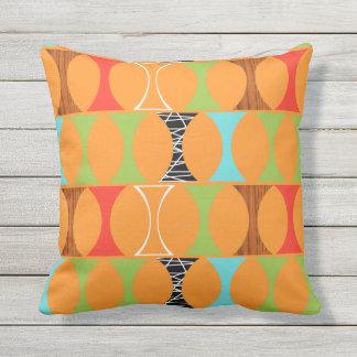 Almohada al aire libre anaranjada moderna de los cojín decorativo