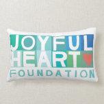 Almohada alegre del corazón