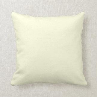Almohada amarilla clara de MoJo del americano