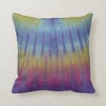 Almohada amarilla púrpura azul de MoJo del america