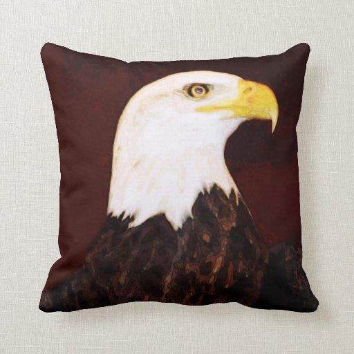 Almohada americana de Eagle calvo