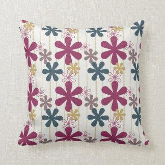 Almohada americana de las flores que cae MOJO Cojín Decorativo