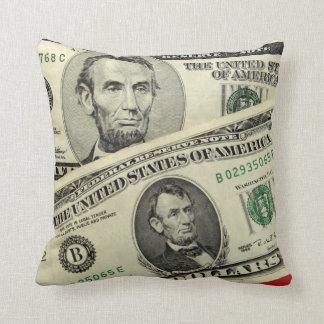 Almohada americana de Mojo del dinero