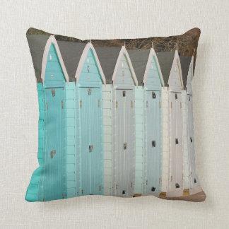 Almohada/amortiguador azules de las chozas de la p