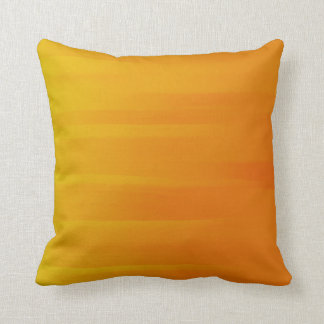 Almohada anaranjada vibrante