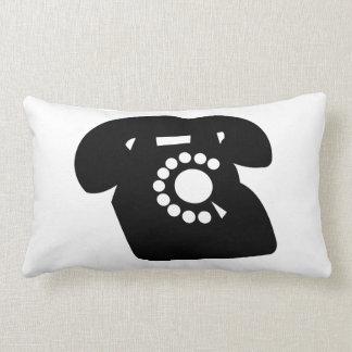 Almohada antigua clásica del teléfono