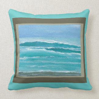 Almohada apacible 1d de la decoración de la playa