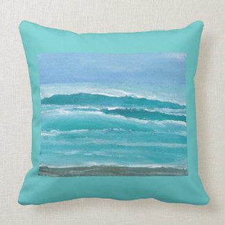 Almohada apacible 1e de la decoración de la playa