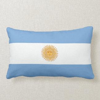 Almohada argentina de la bandera