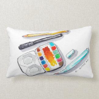 almohada Arte-llenada del acento