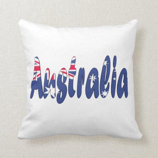 Almohada australiana de la bandera