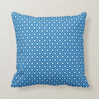 Almohada azul 2 del algodón del modelo de Argyle d
